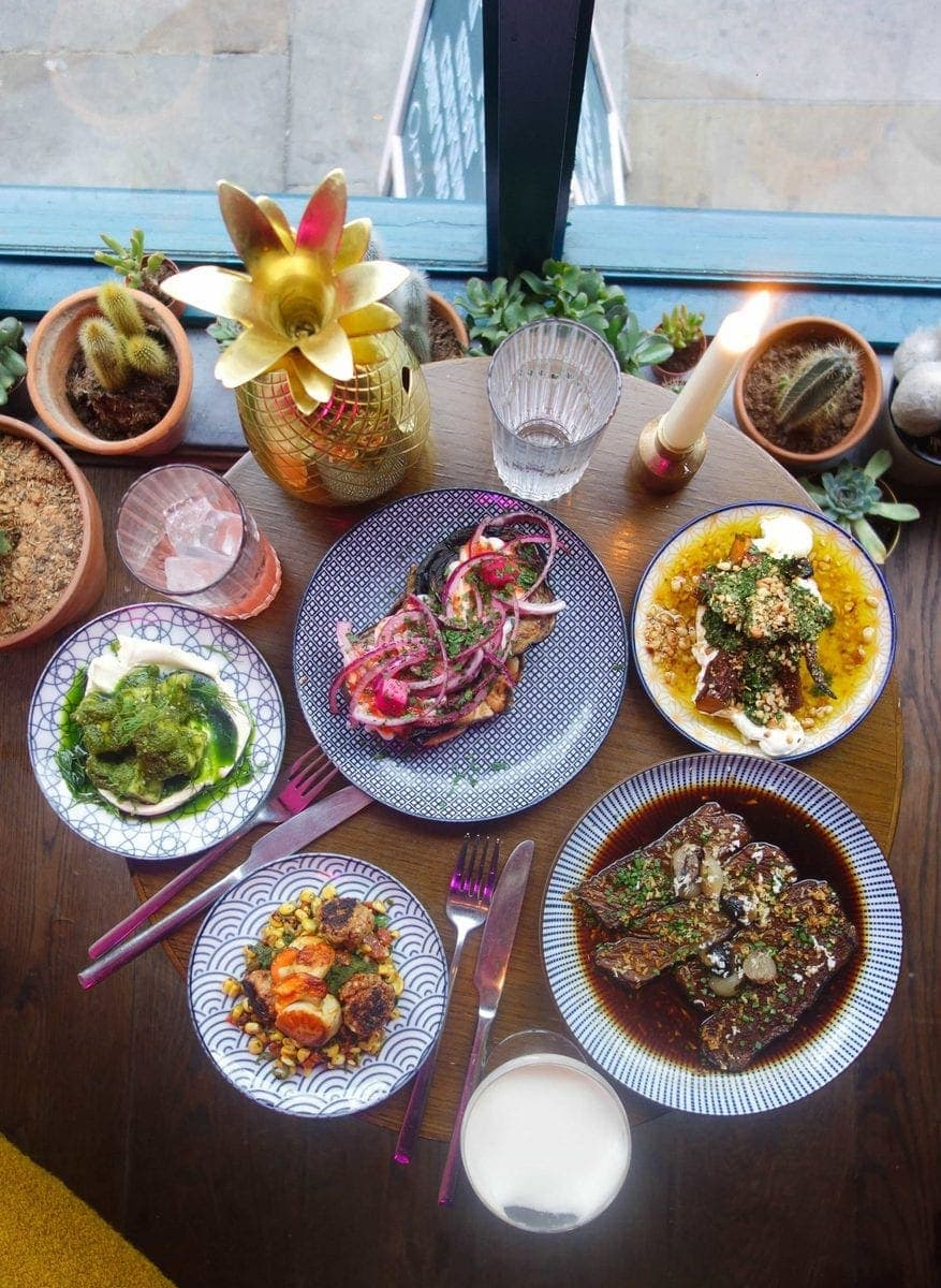 Hopscotch, Brick Lane - Londons Best Date Night Restaurants