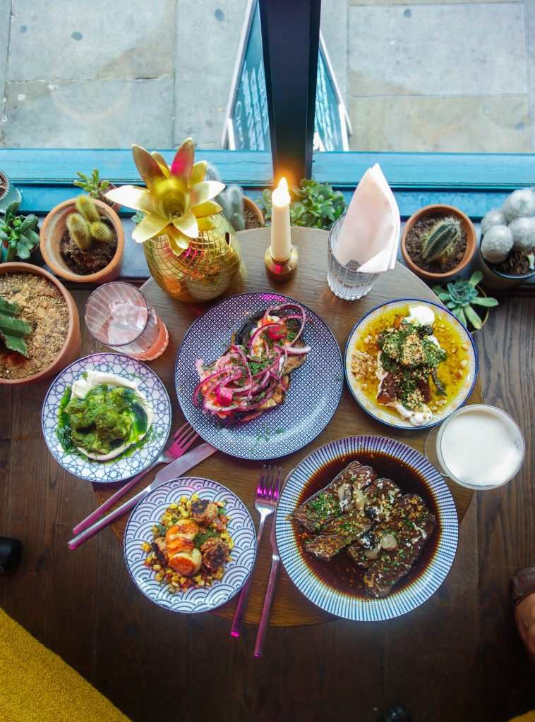 Hopscotch on Brick Lane is home to small sharing plates inspired by Europe, the Middle East and Asia. All with a great cocktail list to go with.