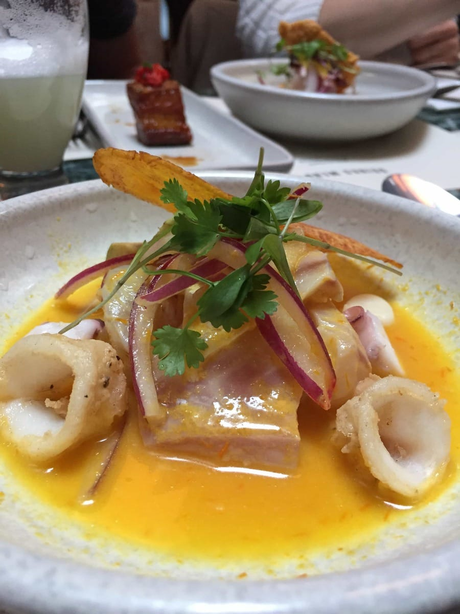 Señor Ceviche, London