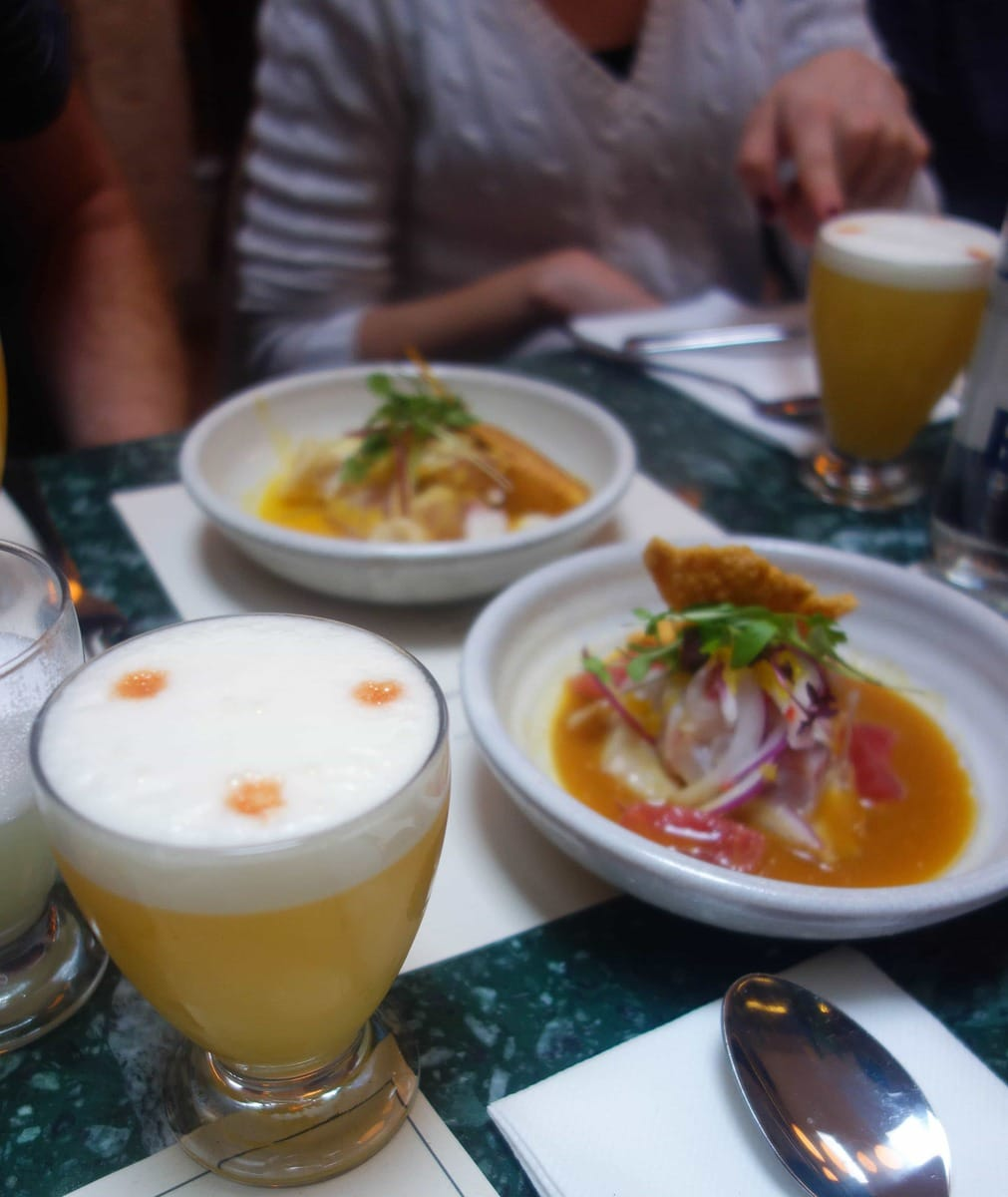 Señor Ceviche - Where To Eat in London For A Special Occasion