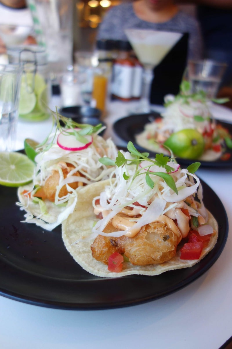 Fish Tacos at Taqueria - 20 London Foods You Must Eat in 2018