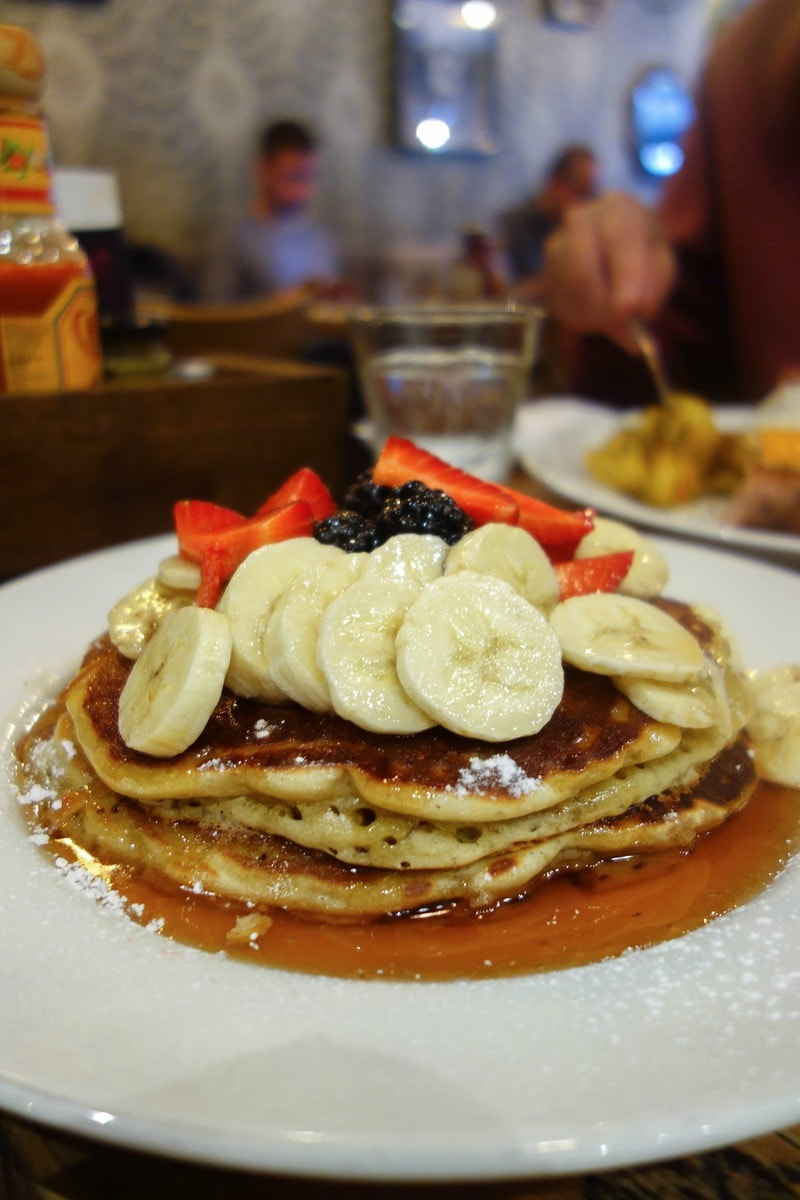 Berry Pancakes, Balans - Where To Eat London's Most Delicious Pancakes