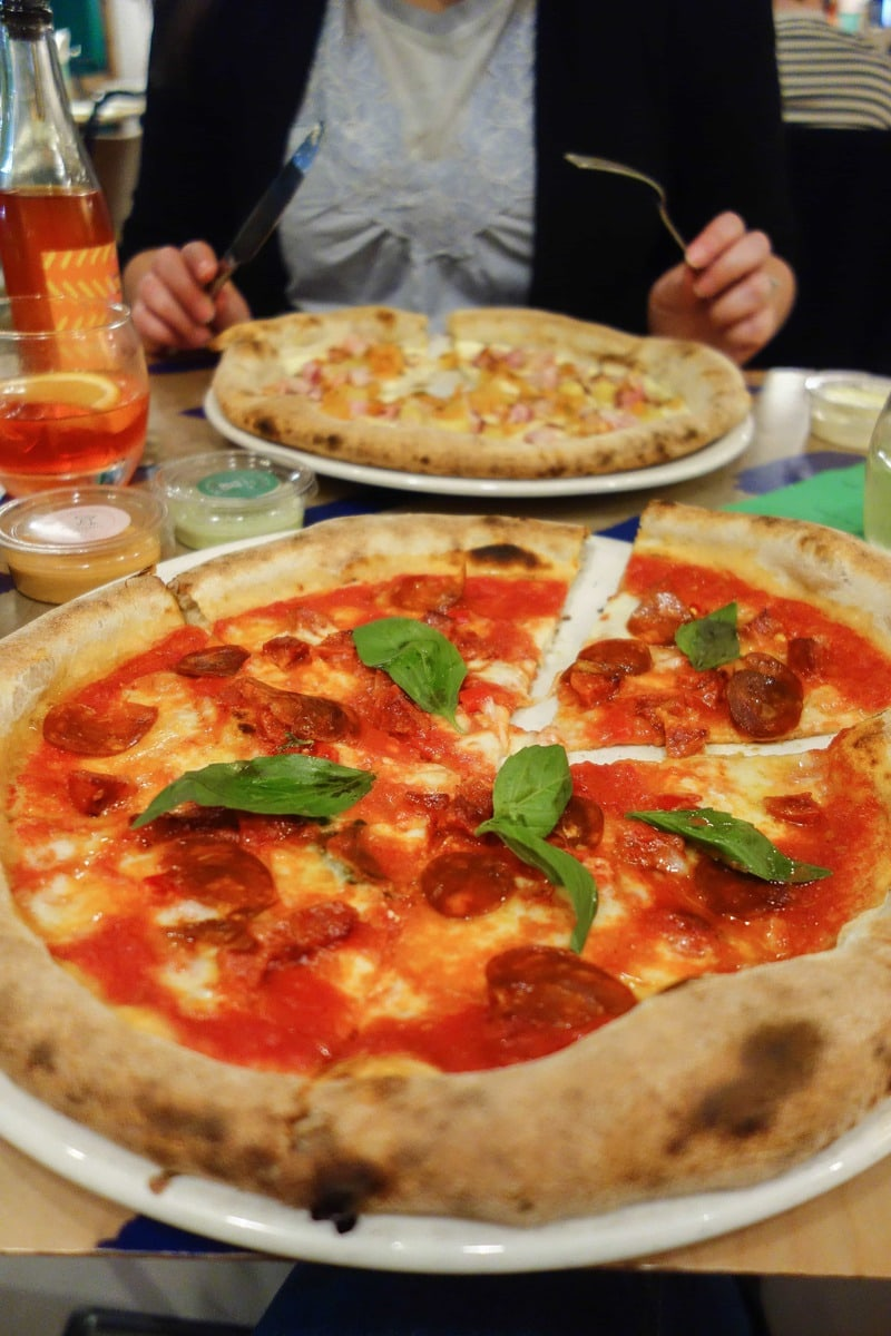 Chorizo Pizza, 400 Hundred Rabbits : November's London Food Finds - Picks from London's Best Restaurants