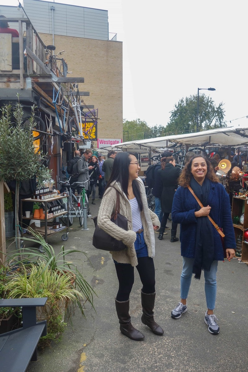 Broadway Market, London.