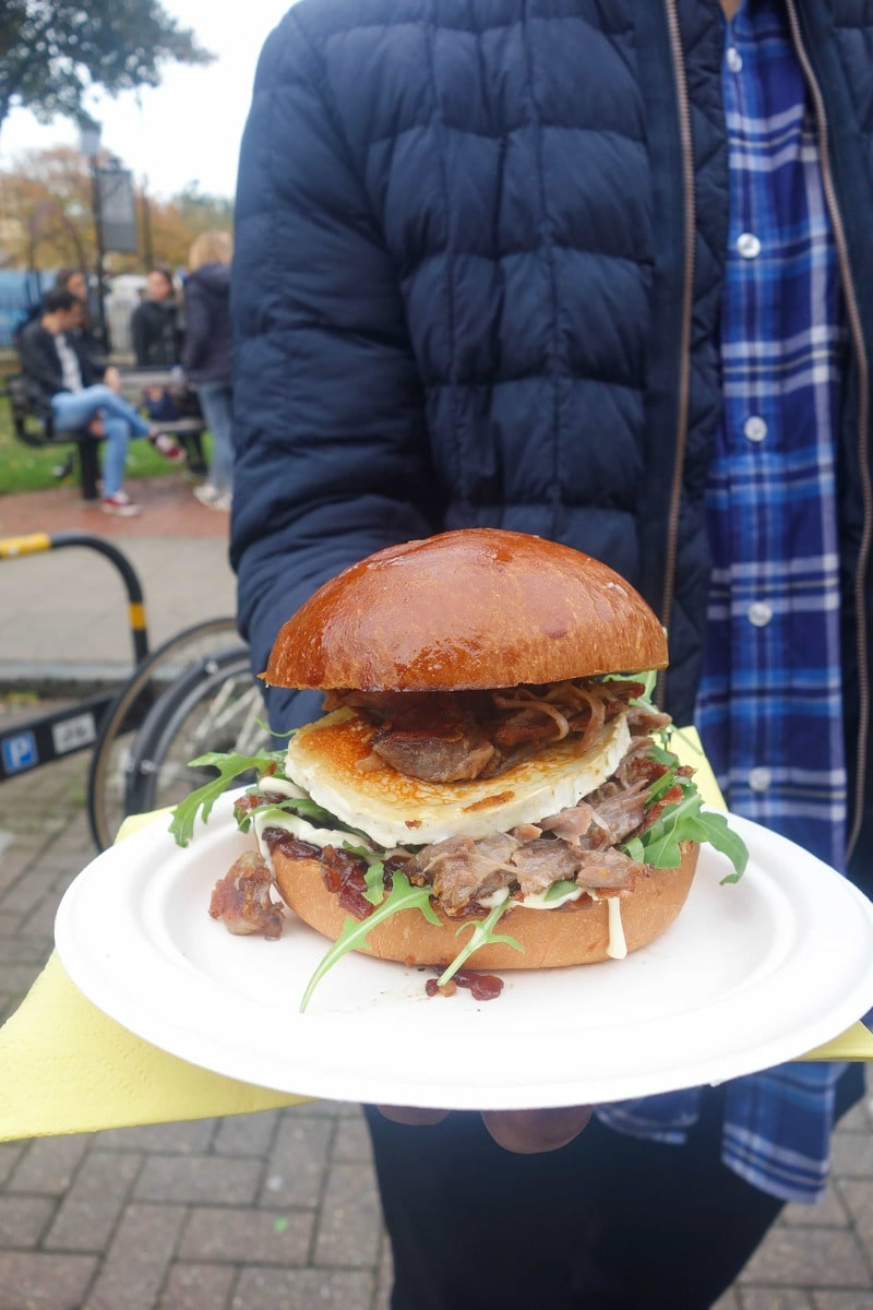 Duck Confit Burger from The Frenchie - 20 London Foods You Must Eat in 2018
