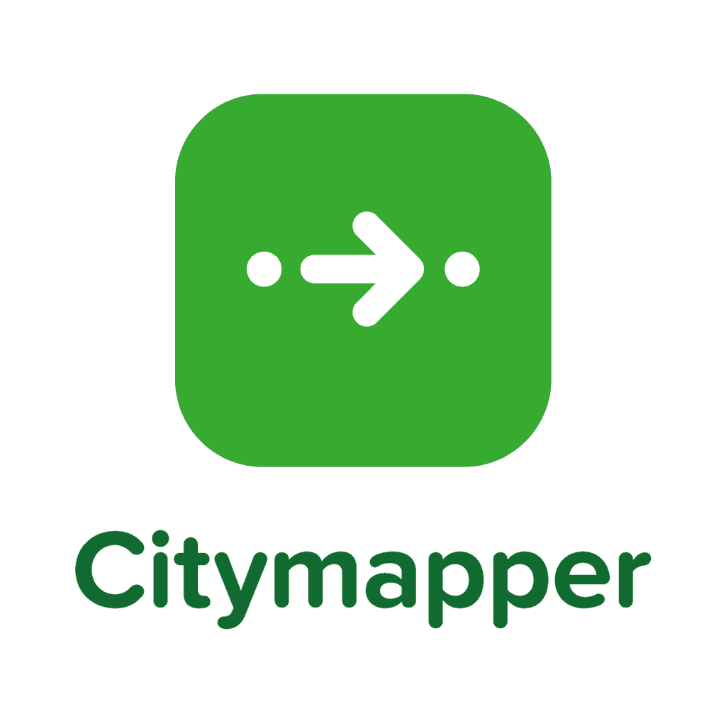 Top Tips For Dining Out In London (Photo of the Citymapper logo)