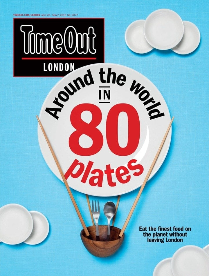 Top Tips For Dining Out In London (Photo of TimeOut Magazine)