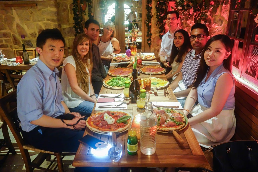 Bungatini - A Year of The London Food Social: A monthly meet up of people who love food and want to meet others that do too.