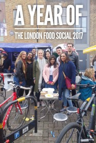 The year of The London Food Social - A monthly meet up of people who love food and want to meet others that do too.