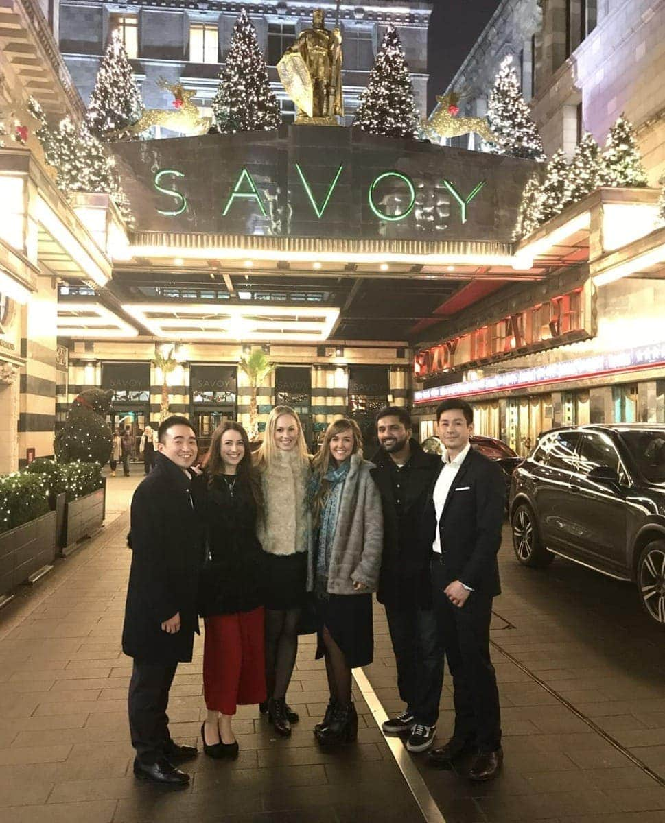 Eating at The Savoy - NOTSOBASICLONDON's Best Bits of 2017.