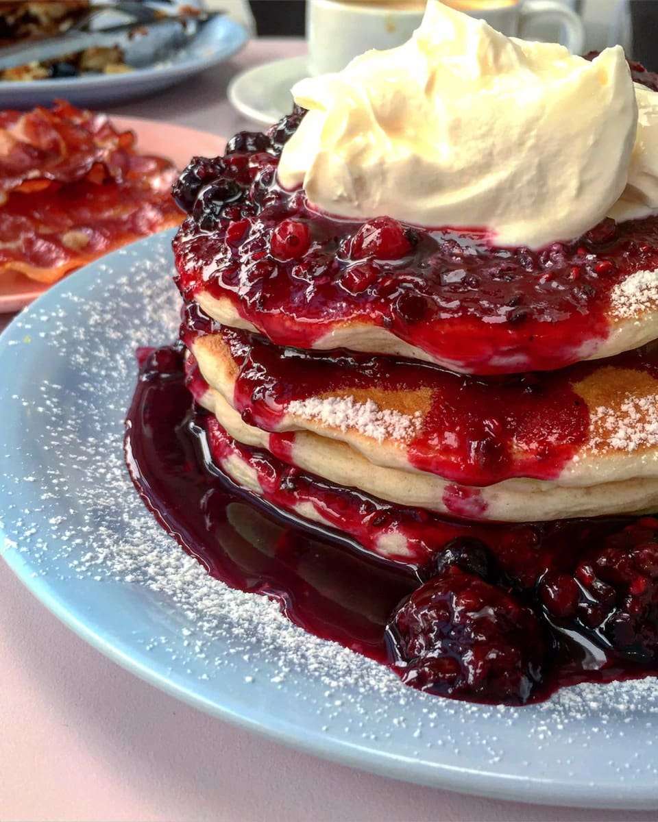 Pancakes at Cafe Miami - 20 London Foods You Must Eat in 2018
