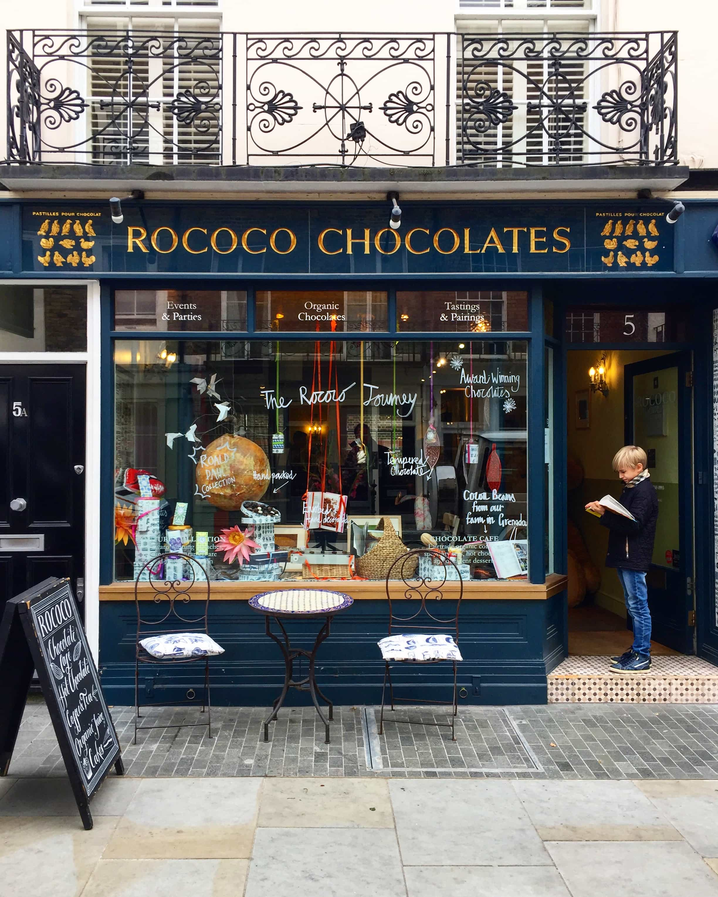 Signature Hot Chocolate, Rococo Chocolates- London's Best Hot Chocolates | 20 Great Places