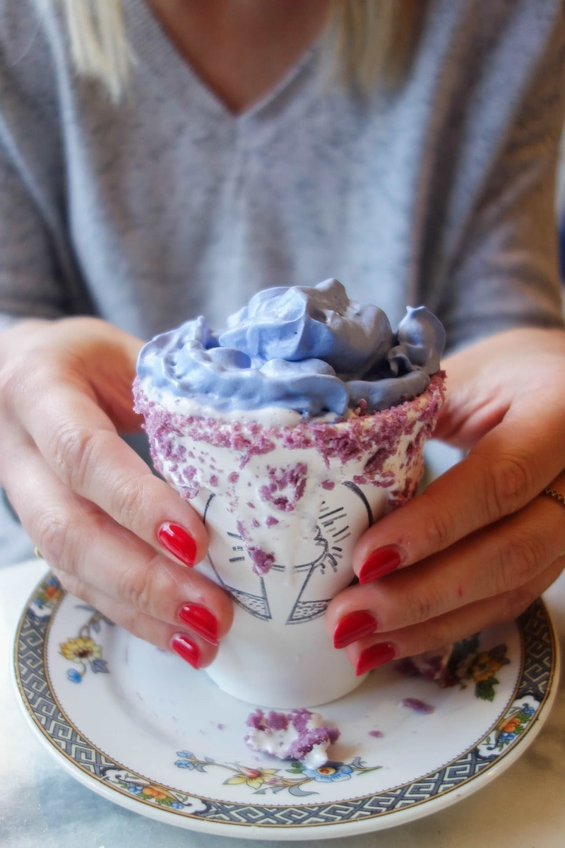Ube Hot Chocolate, Mamasons Dirty Ice-cream - Where To Drink London's Most Decadent Hot Chocolates