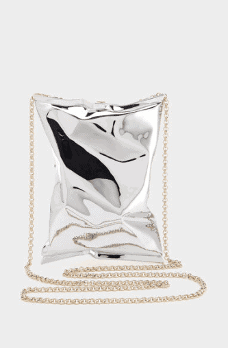 18ct Yellow Gold Crisp Packet Clutch  - The Ultimate Gift Guide for Food Lovers