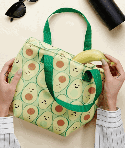 Sass & Belle Avocado Lunch Bag - The Ultimate Gift Guide for Food Lovers