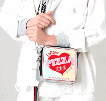 SKINNY DIP LEFTOVER PIZZA CROSS BODY BAG  - The Ultimate Gift Guide for Food Lovers