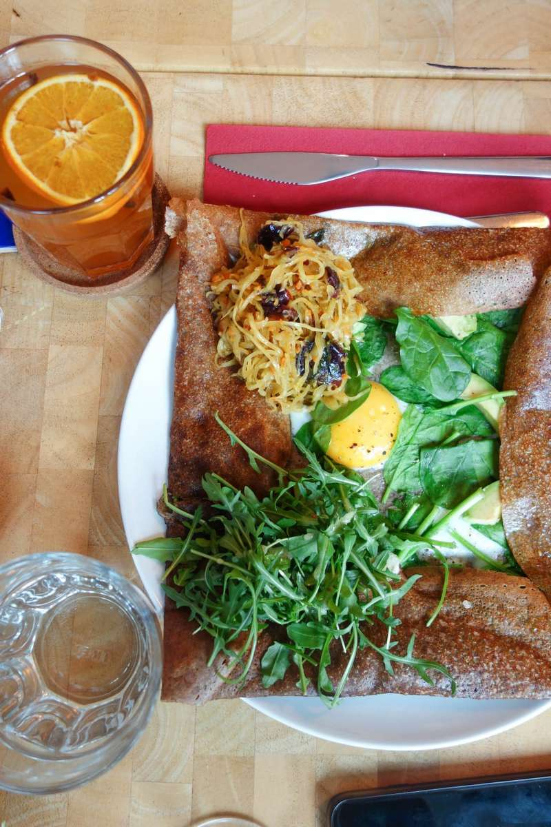 Kimchi Galette, Crepes A La Carte - Where To Eat London's Most Delicious Pancakes
