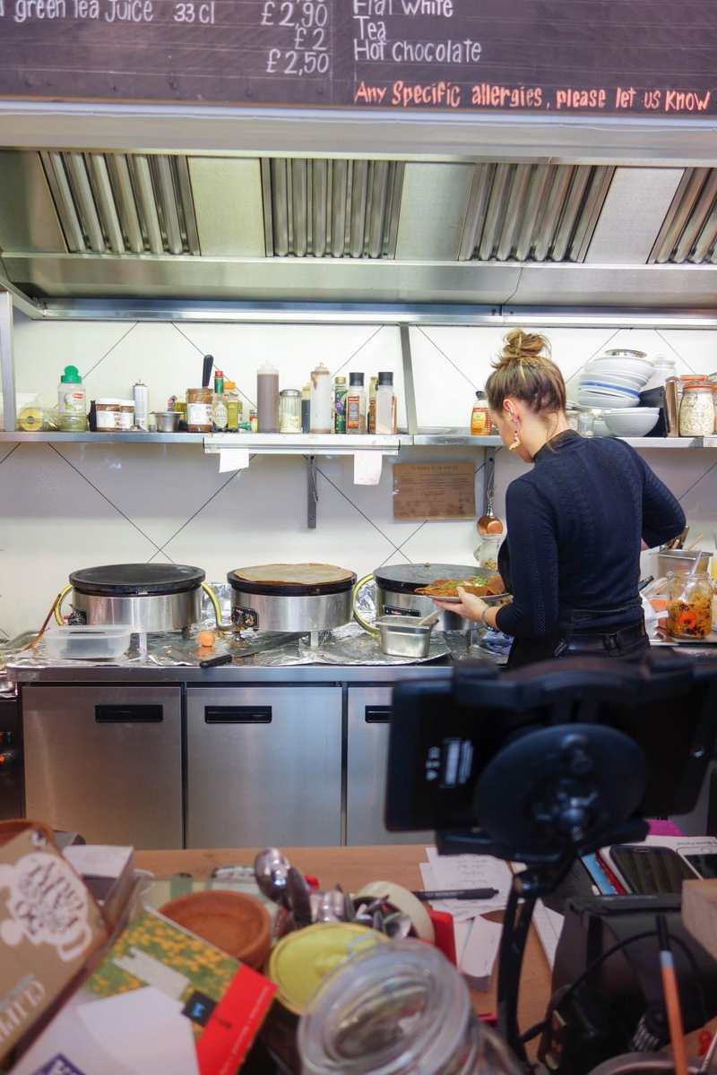 Inspiring Women On The London Food Scene - Eva La Badezet, Crepes a la Carte