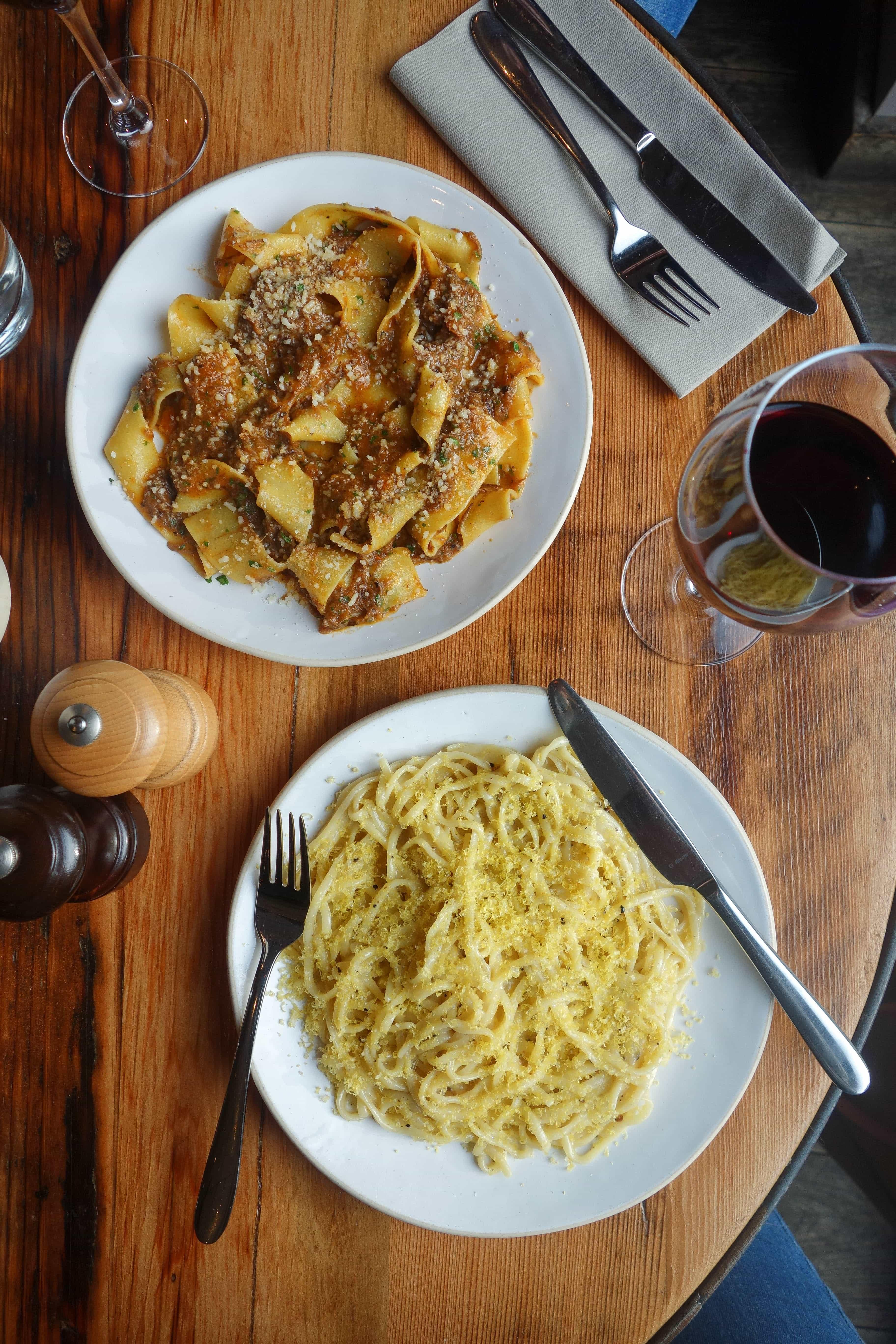 Pasta, Flour & Grape: January's London Food Finds 2018
