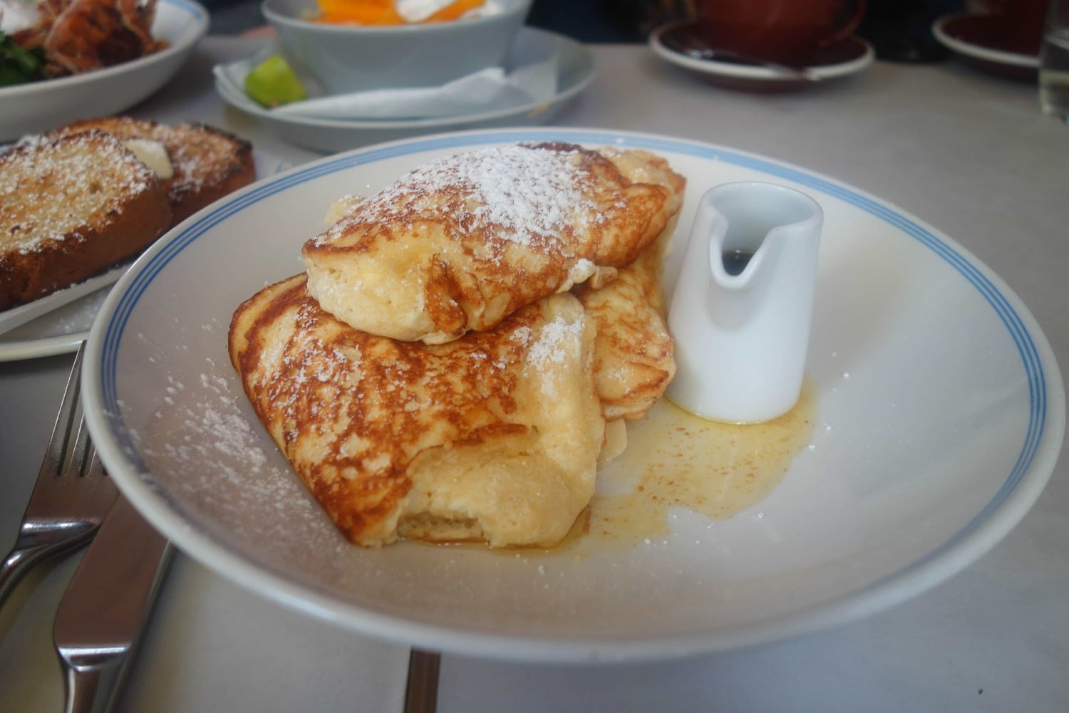 Ricotta Hotcakes, Granger & Co - Where To Eat London's Most Delicious Pancakes