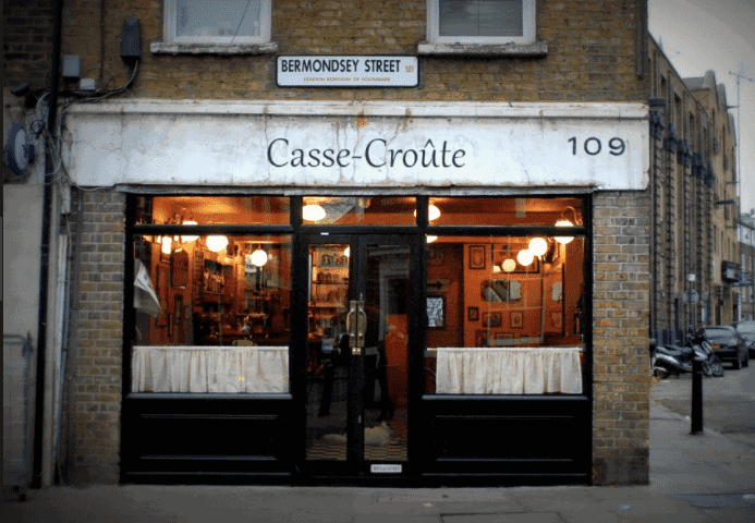 Cause Croute, Bermondsey - Londons Best Date Night Restaurants