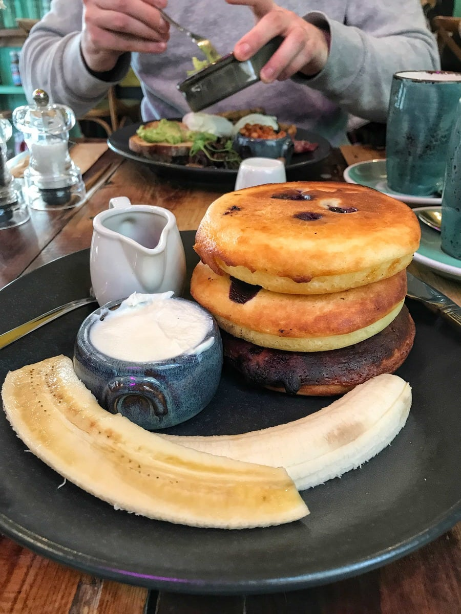 Blueberry Pancakes, Proud Mary's - Where To Eat London's Most Delicious Pancakes