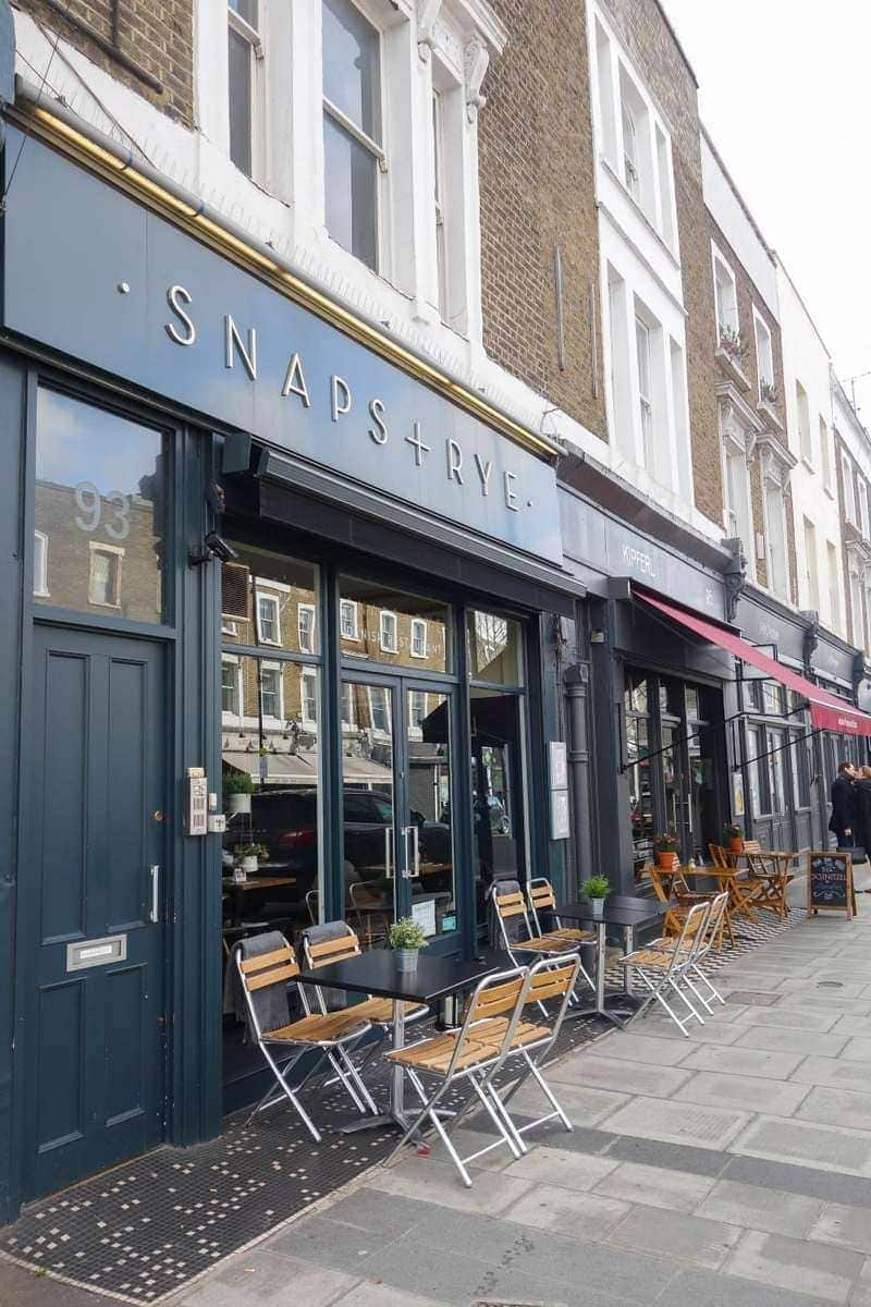 Snaps and Rye, Notting Hill