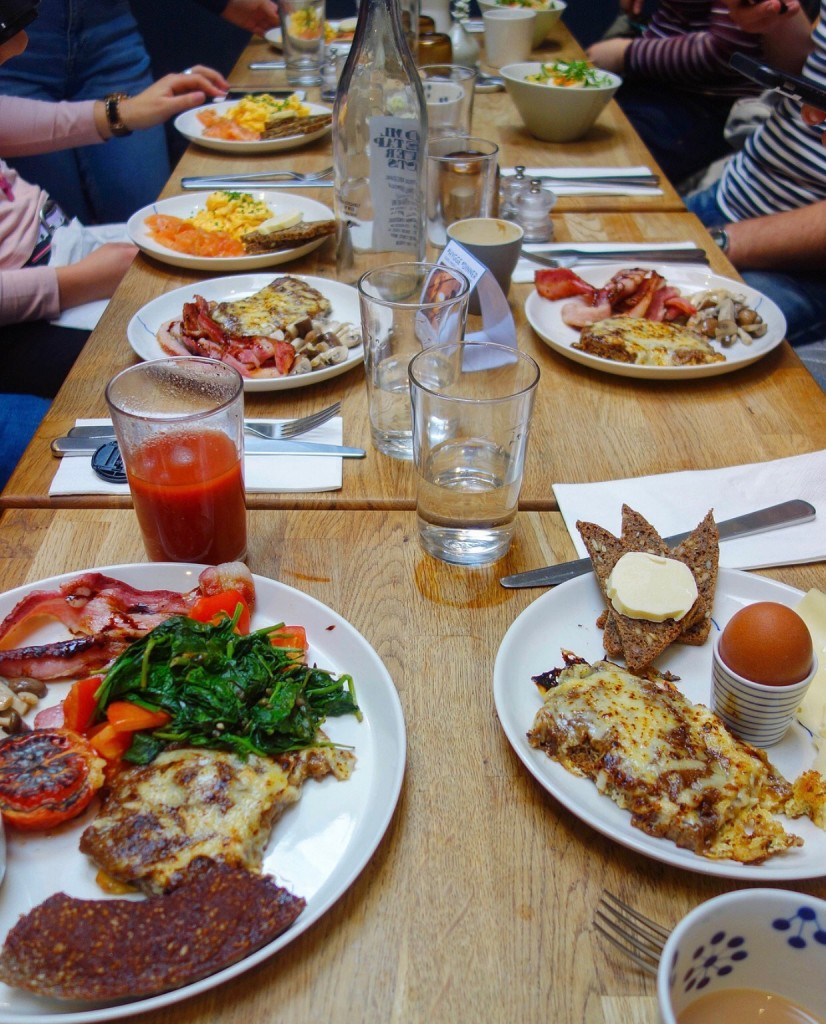 Brunch at Snaps & Rye, Notting Hill