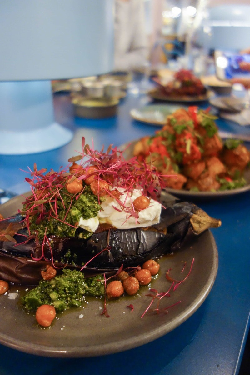 Aubergine Shawarma, The Good Egg: February's London Food Finds 2018