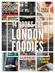 14 Books for London Foodies. Check them all out at www.notsobasiclondon.com for the full list.