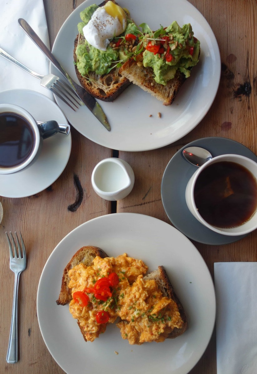 Nduja scrambled eggs from Salon - 20 London Foods You Must Eat in 2018