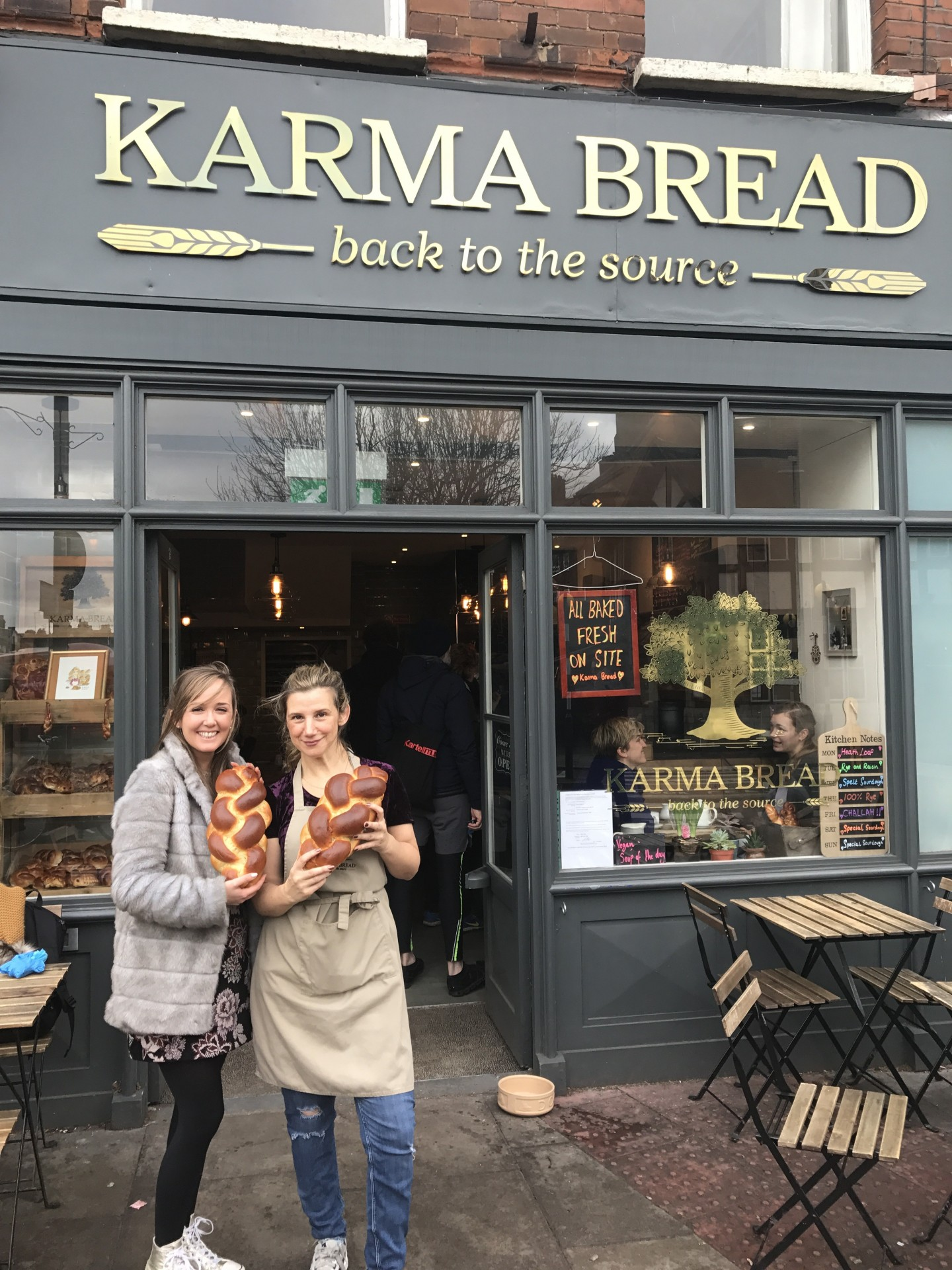 Inspiring Women On The London Food Scene - Tami Isaacs Pearce, Karma Bread