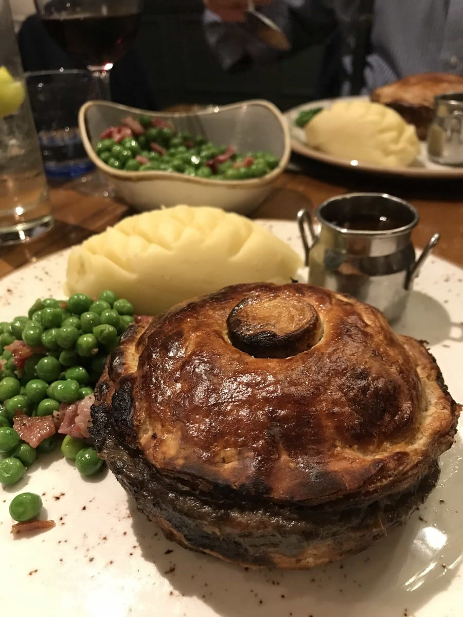 Steak Pie, The Windmill: April's London Food Finds 2018