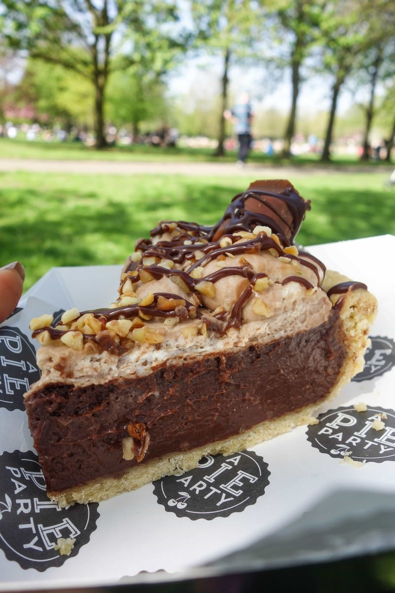 Nutella Pie, Pie Party: April's London Food Finds 2018
