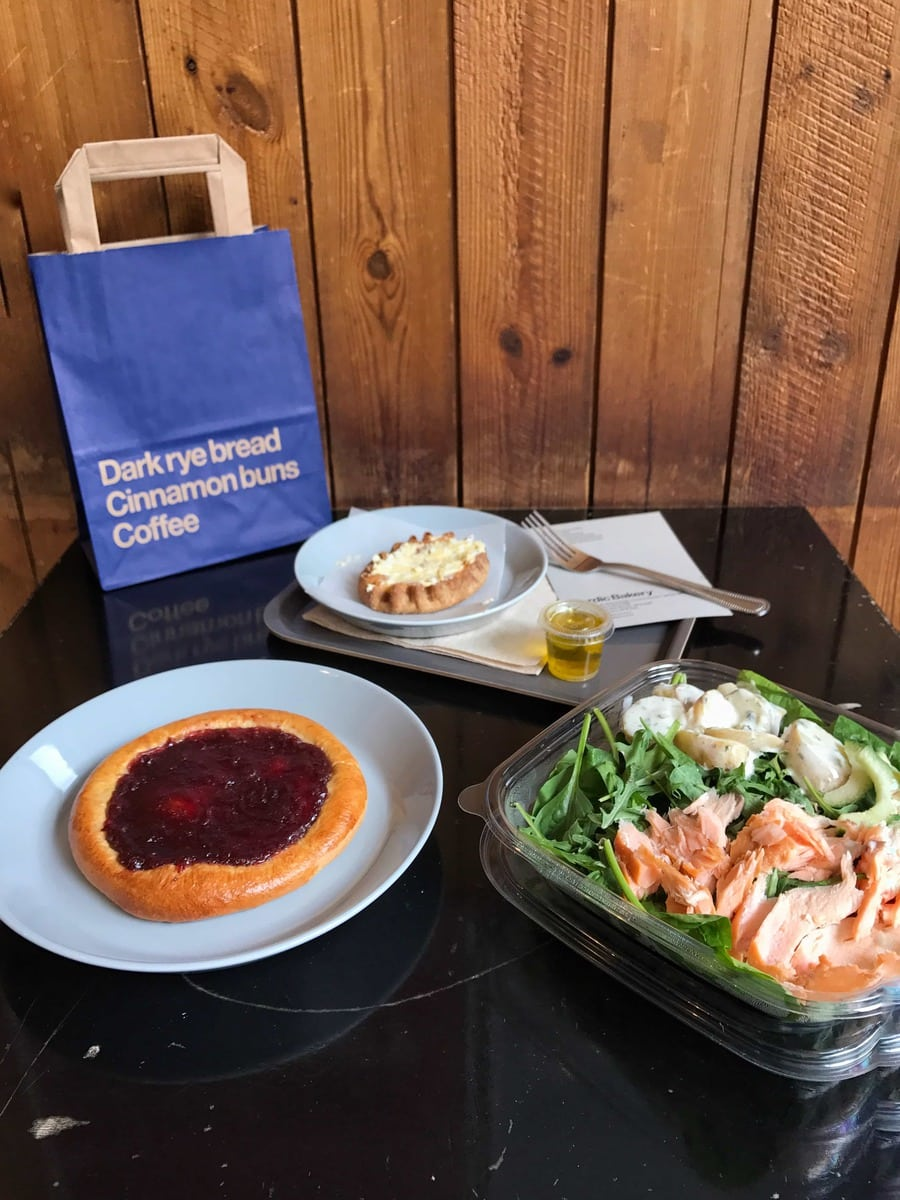 Lunch, Nordic Bakery: May's London Food Finds 2018