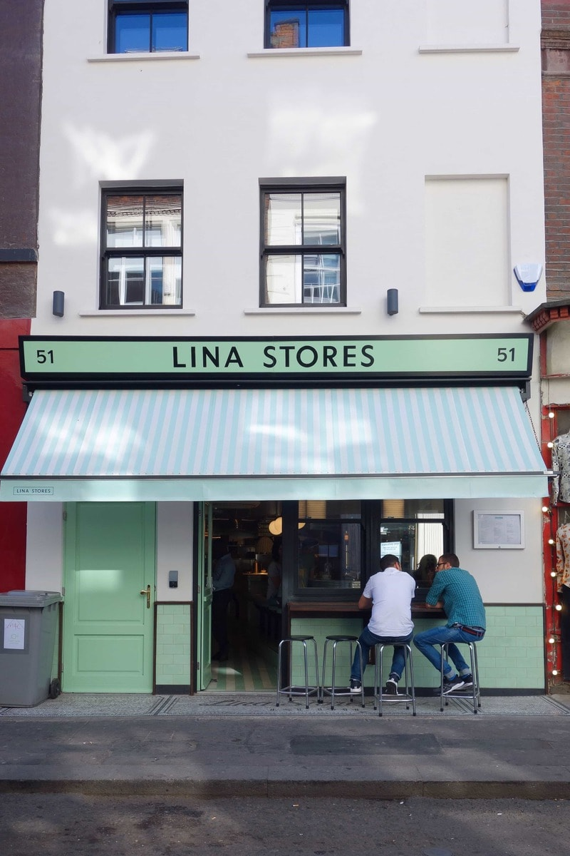 Lina Stores - Table For One: London's Best Places To Dine Alone (& How To Do it Well!)