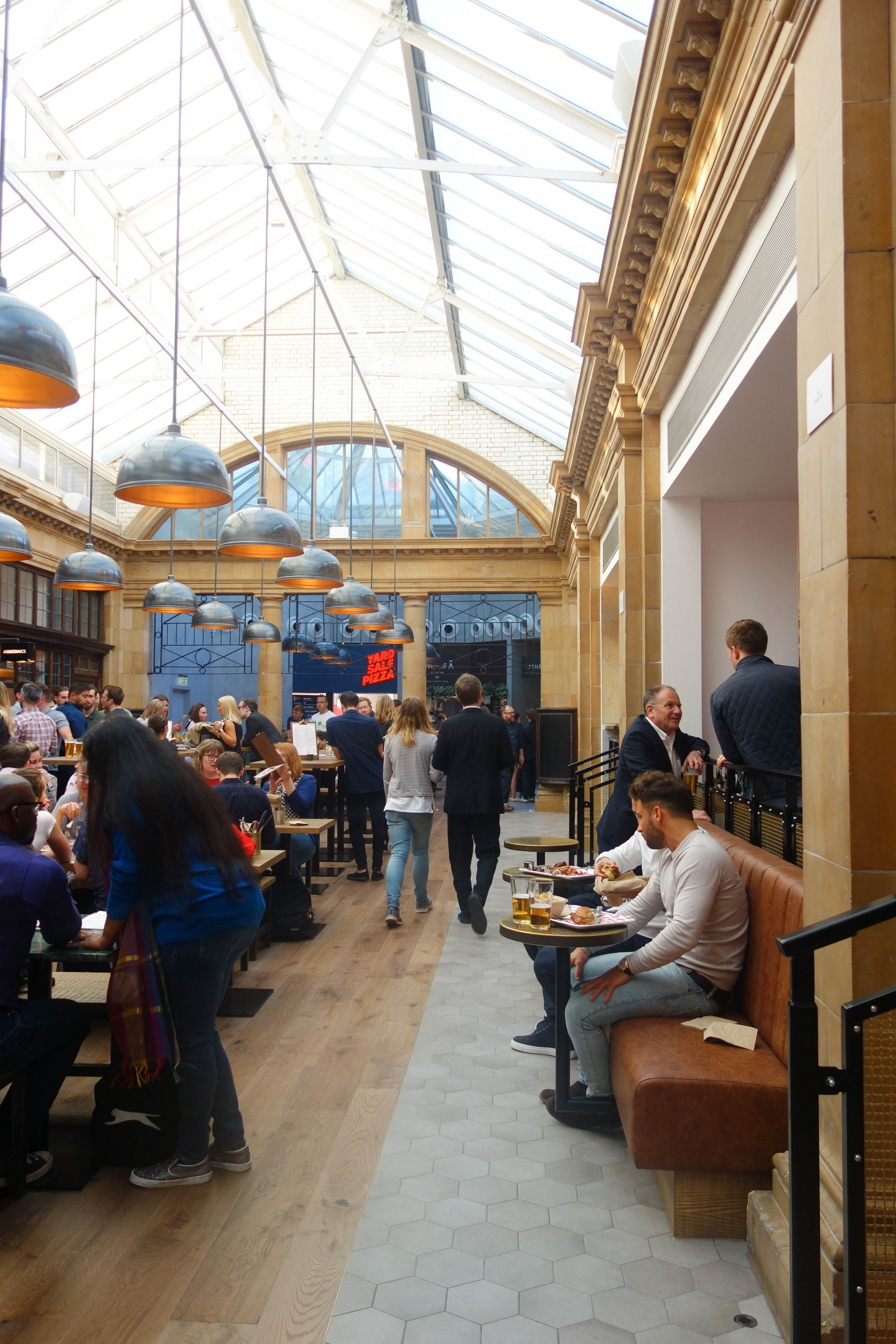 Market Halls, London - A New Indoor Food Market