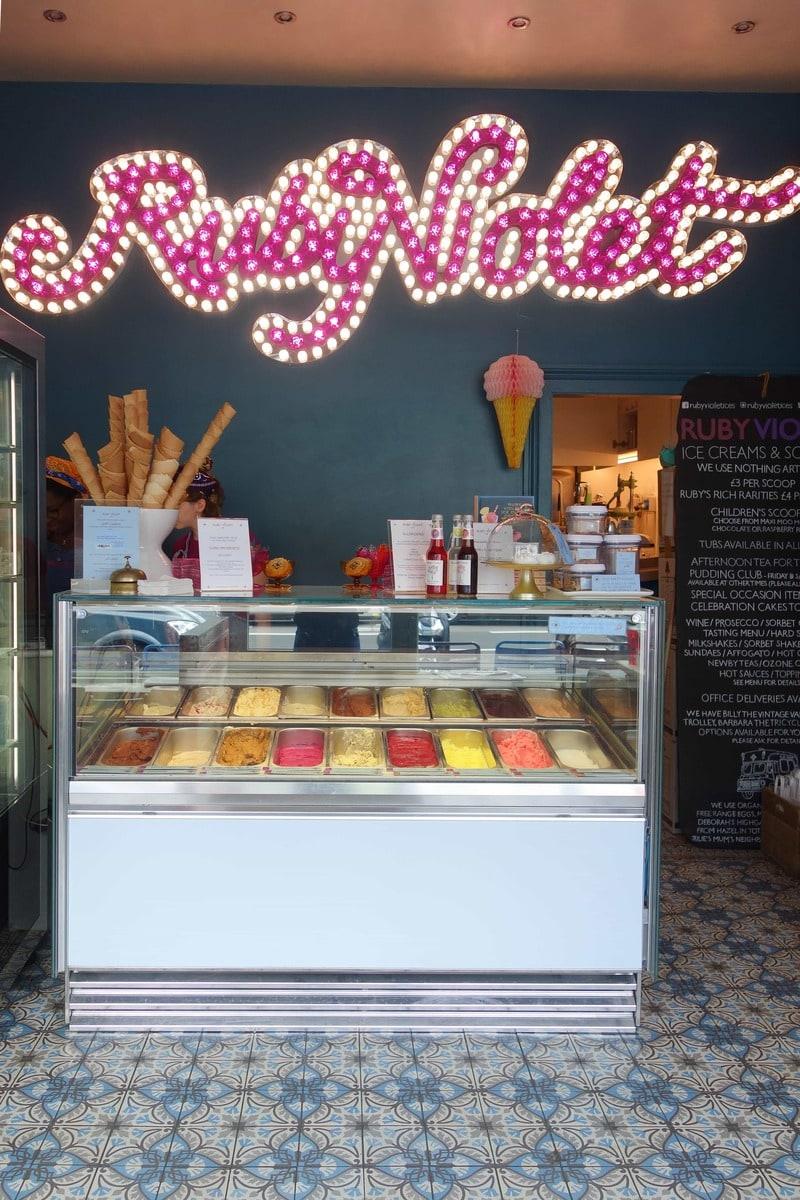 Ruby Violets : Late Night Dessert Spots in London