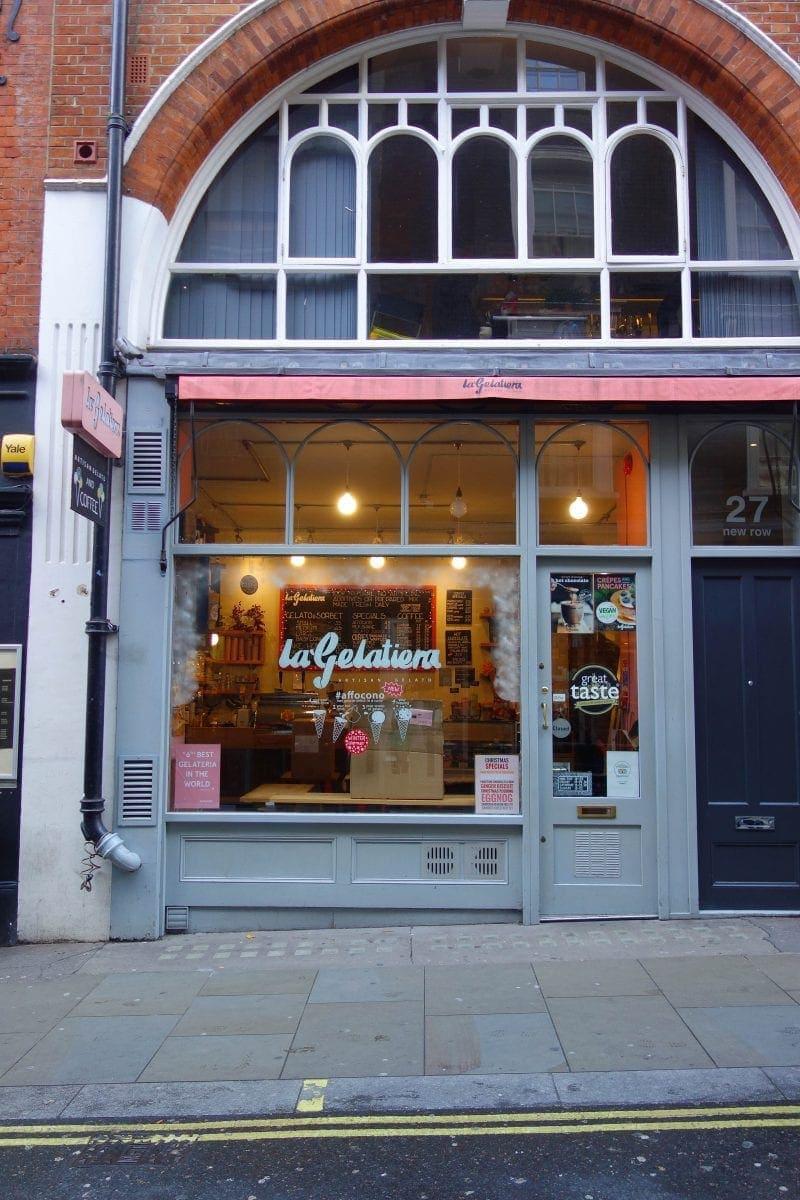 La Gelatiera : Late Night Dessert Spots in London