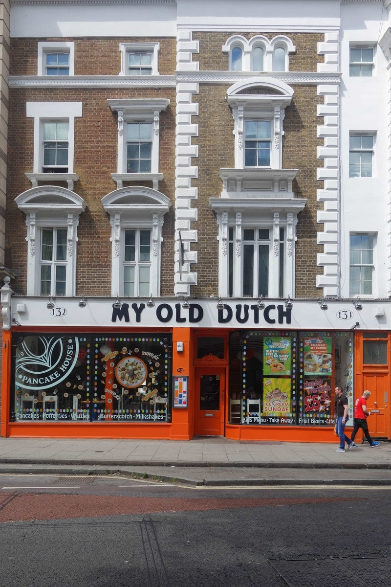 My Old Dutch : Late Night Dessert Spots in London