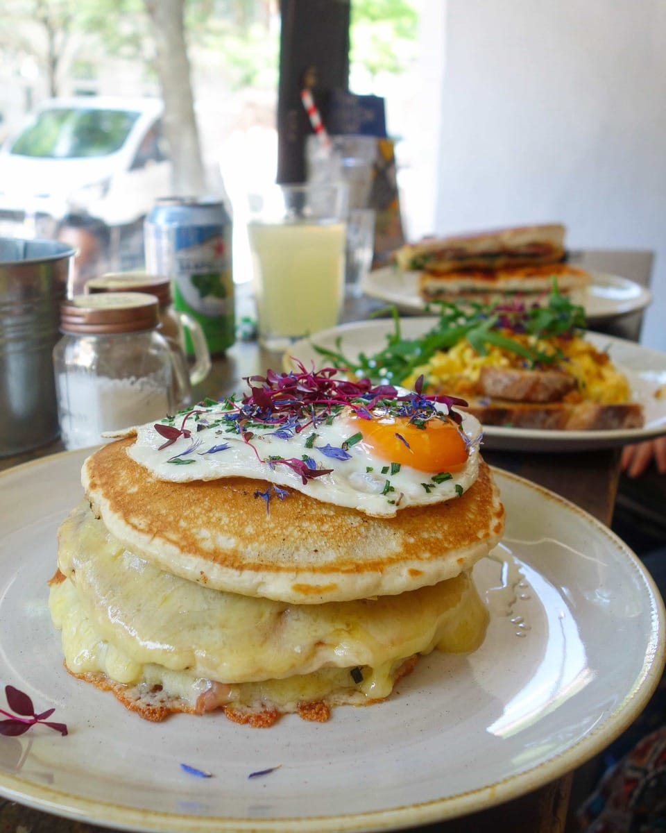 Cheese Pancakes, Half Cup: June's London Food Finds 2018 - Pick's from London's Best Restaurants