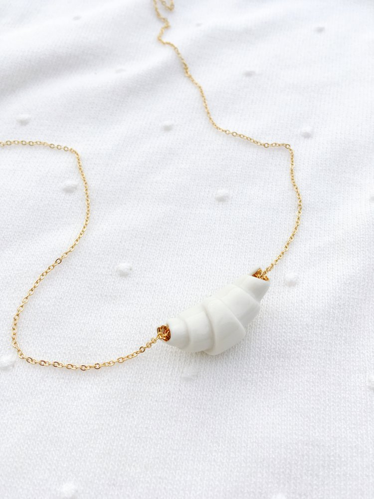 Atelier Vanrosa Croissant Necklace  - The Ultimate Gift Guide for Food Lovers