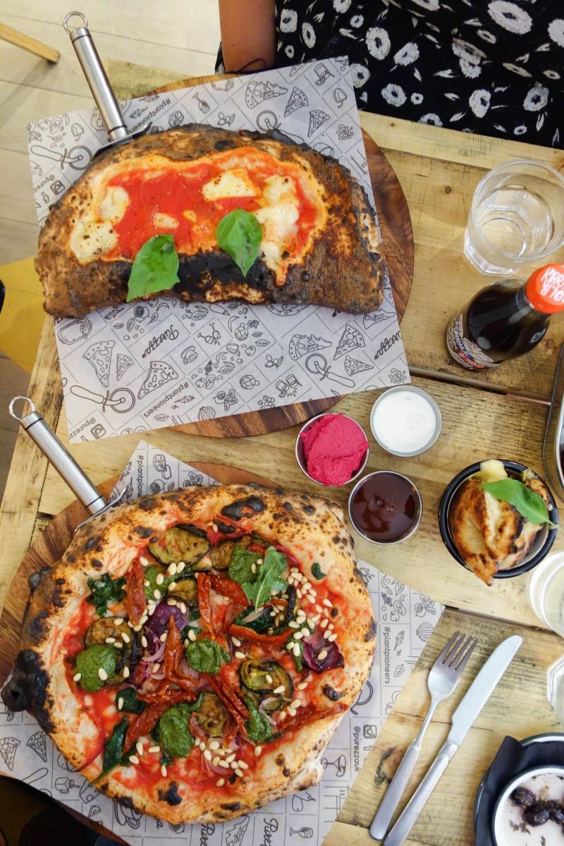 Vegan Pizza, Purezza - Julys London Food Finds 2018