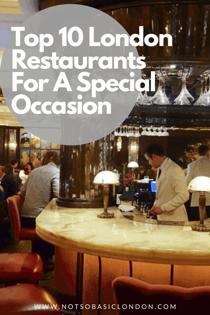 Top 10 Places to Eat in London for a Special Occasion