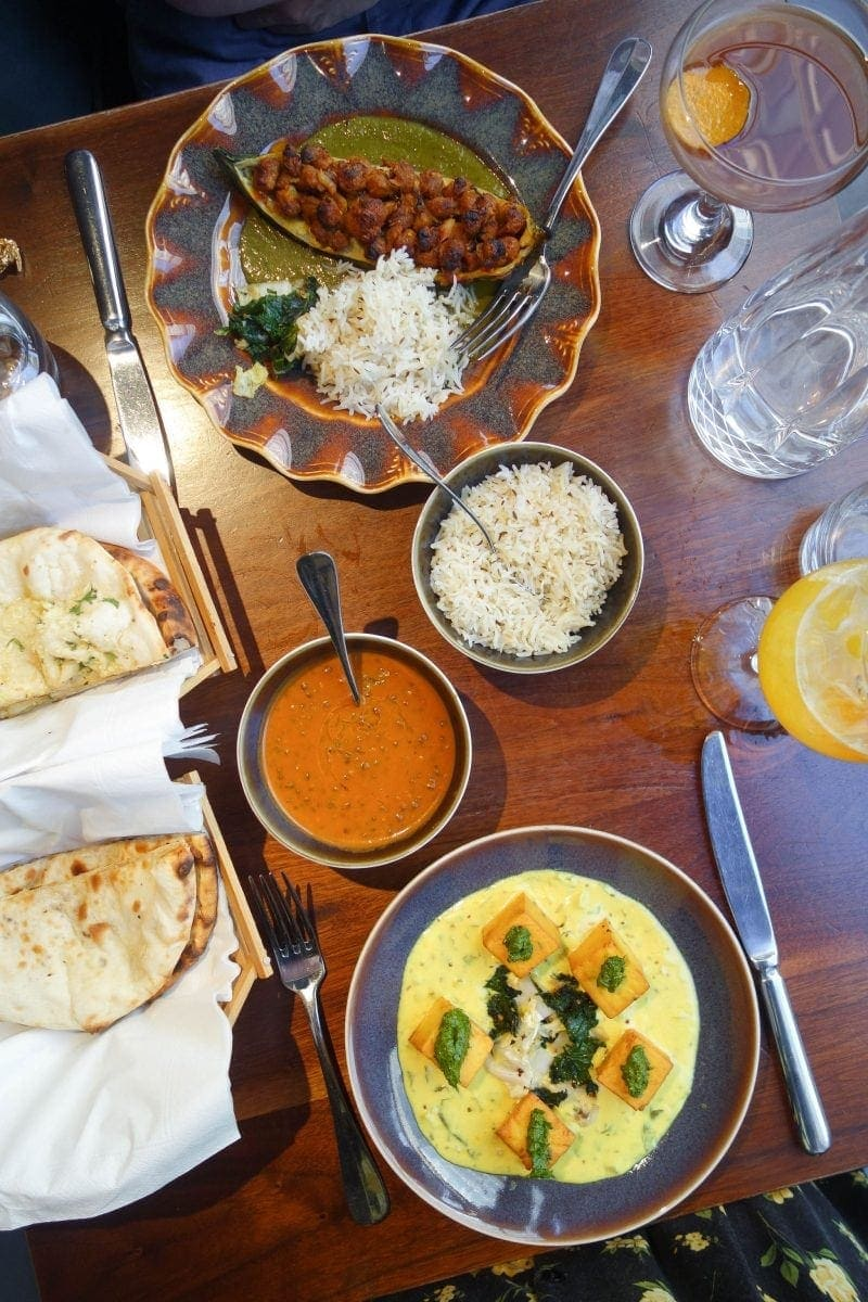 Indian Feast, Cinnamon Kitchen: August's London Food Finds 2018: Picks From London's Best Restaurants