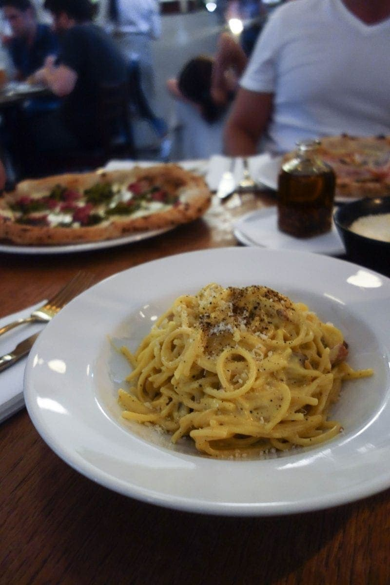 London's Best Pasta Restaurants (Image of pasta from 'Over)