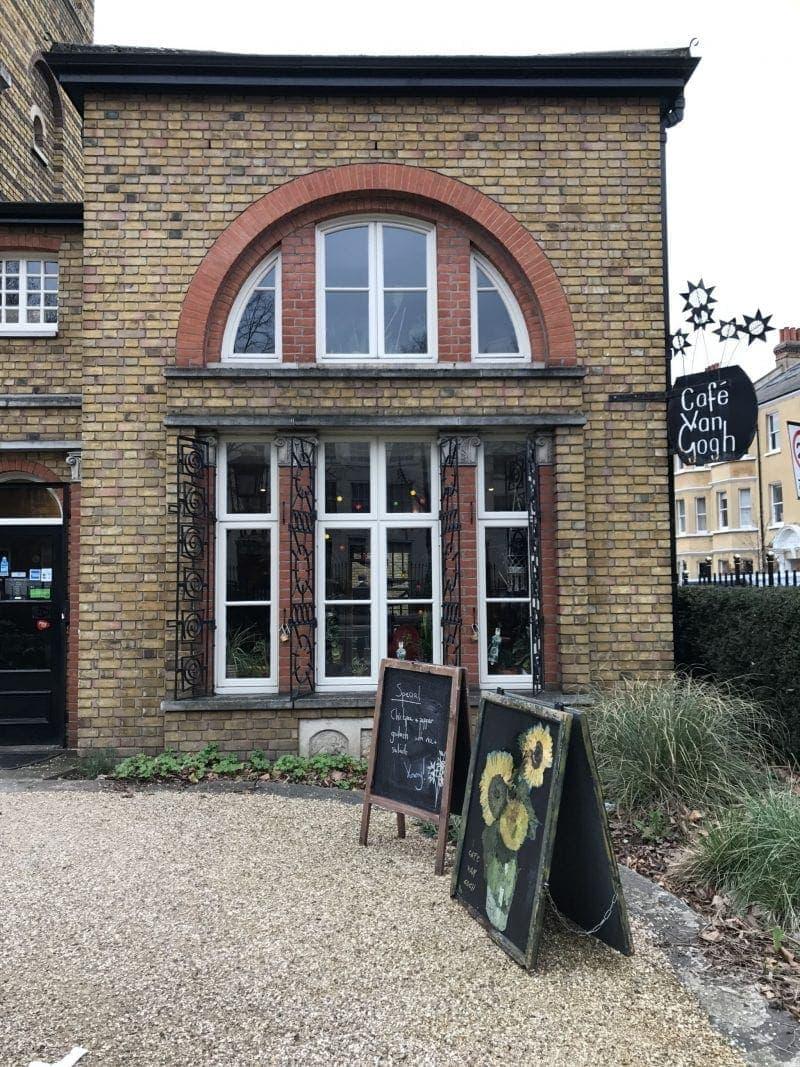 Van Gough Cafe, Brixton: Vegan Places In London a Non-Vegan Will Love!