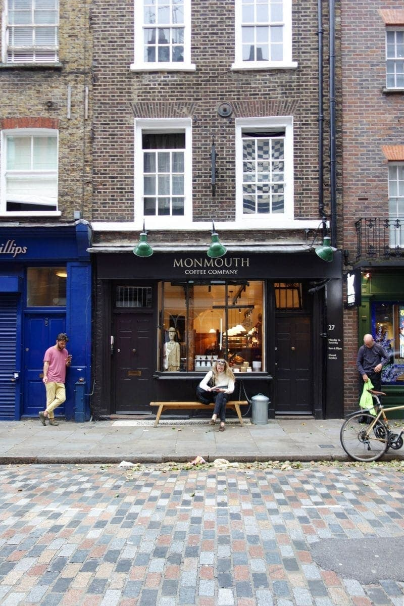 Monmouth Coffee - A Guide To Seven Dials : Sponsored By JORD Watches - Unique Wooden Watches