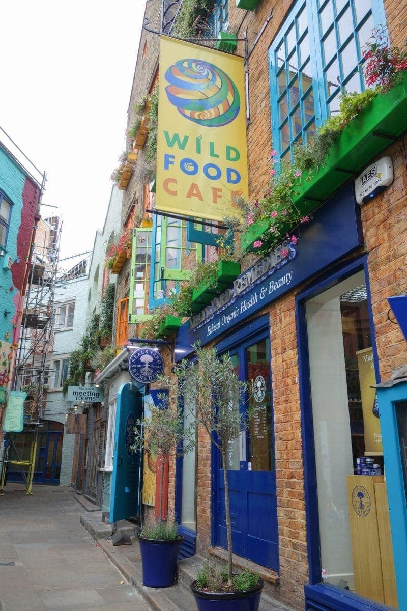 Wild Food Cafe -  A Guide To Seven Dials : Sponsored By JORD Watches - Unique Wooden Watches