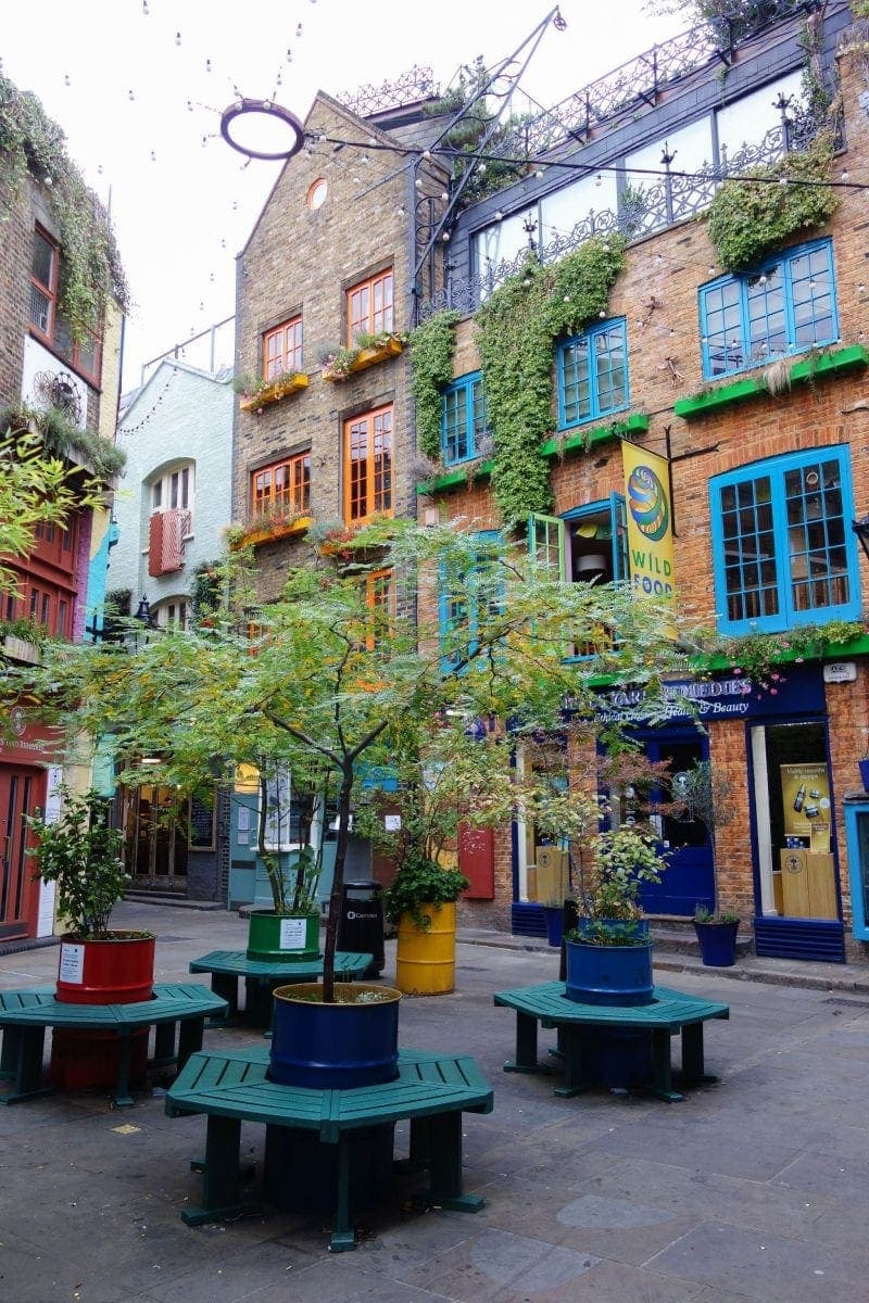 Neals Yard - A Guide To Seven Dials : Sponsored By JORD Watches - Unique Wooden Watches